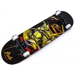 Скейтборд деревянный Fish Skateboard Knight