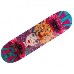 Скейтборд деревянный Fish Skateboard Girl
