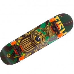 Скейтборд деревянный Fish Skateboard Bug