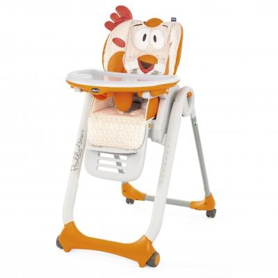 Стульчик для кормления Chicco Polly 2 Start Fancy Chicken