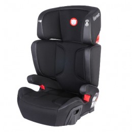 Автокресло Lionelo Hugo Isofix Leather Black (15-36 кг)