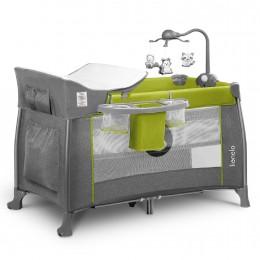 Кроватка-манеж Lionelo Thomi Green Lemon