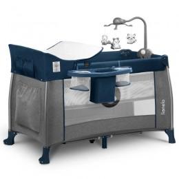 Кроватка-манеж Lionelo Thomi Navy Blue