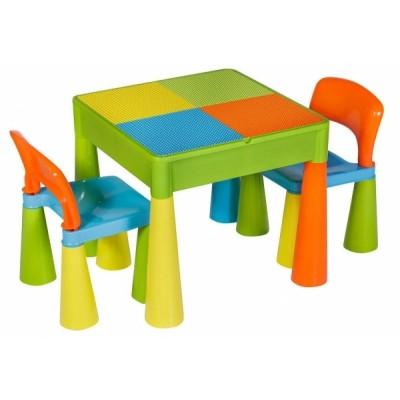 Столик и 2 стула Tega baby Mamut Multi
