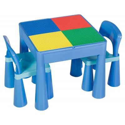 Столик и 2 стула Tega baby Mamut Blue