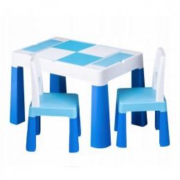Столик Tega baby Multifun Blue c 2 стульями