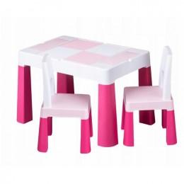 Столик Tega baby Multifun Pink c 2 стульями