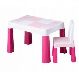 Столик Tega baby Multifun Pink c 1 стулом