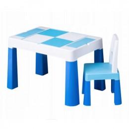 Столик Tega baby Multifun Blue c 1 стулом
