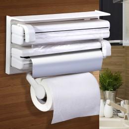 Кухонный диспенсер (органайзер) для пленки и бумажных полотенец
