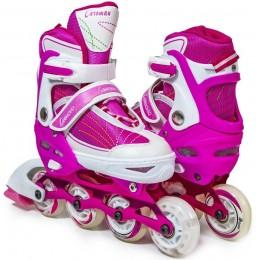 Ролики Caroman Sport Pink