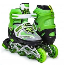 Ролики Happy Sport Green