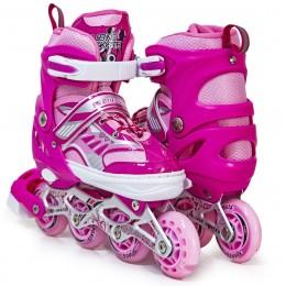 Ролики Happy Sport 2 Pink (малиновые)