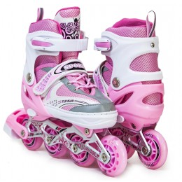 Ролики Happy Sport Pink