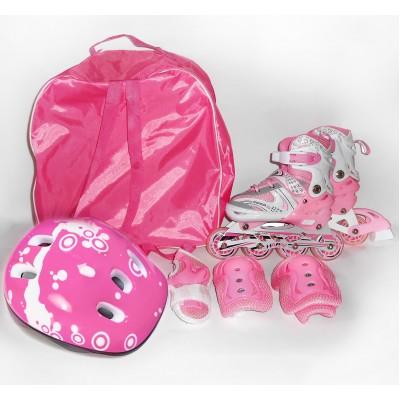 Комплект роликов Happy Sport Pink