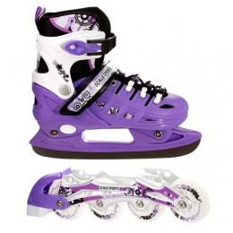 Ролики - коньки 2в1 Scale Sport Violet