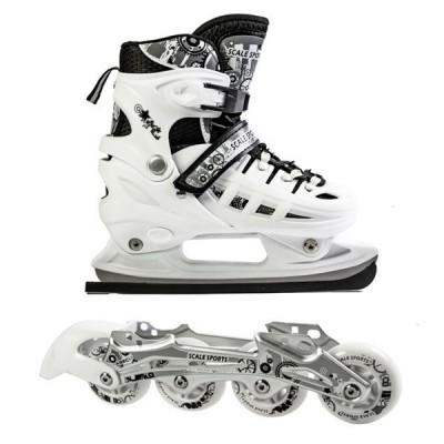 Ролики - коньки 2в1 Scale Sport White