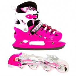 Ролики - коньки 2в1 Scale Sport Pink