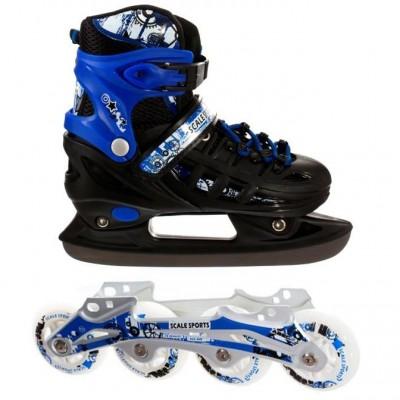Ролики - коньки 2в1 Scale Sport Blue