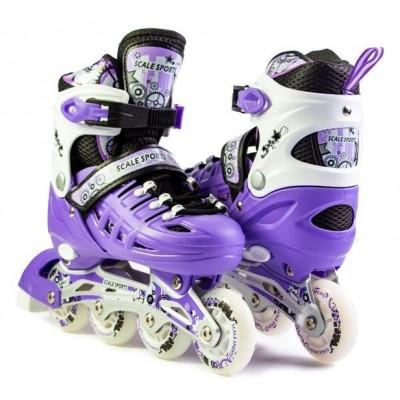 Ролики Scale Sports Violet  (LF 905)