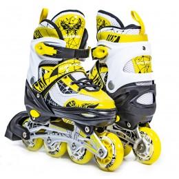 Ролики Scale Sports LF 967 Желтые