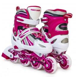 Ролики Power Champs Pink
