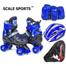Комплект роликов - квадов Scale Sports Black