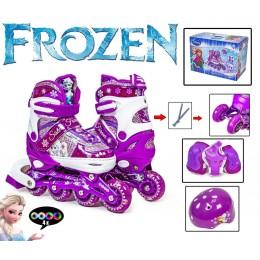 Комплект роликов Disney Frozen Violet