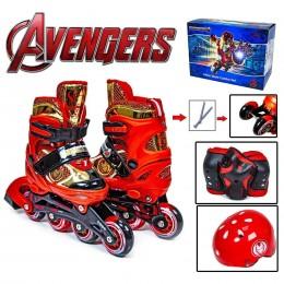 Комплект роликов Marvel Iron Man