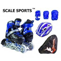 Комплект роликов Scale Sports Blue