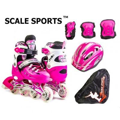 Комплект роликов Scale Sports Pink