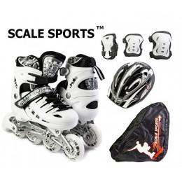 Комплект роликов Scale Sports White