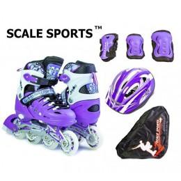 Комплект роликов Scale Sports Violet