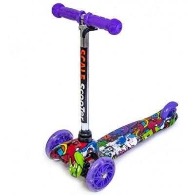 Cамокат Scooter Mini Graffity