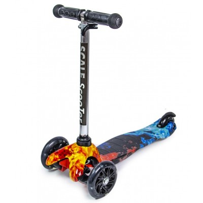 Cамокат Scooter Mini Fire and Ice