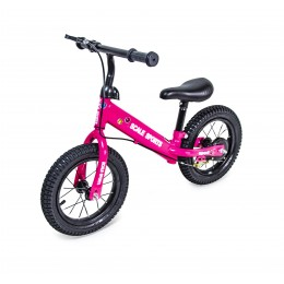 "Беговел Scale Sports 12"" Розовый"
