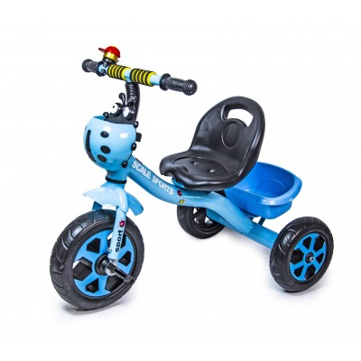 Трехколесный велосипед Scale Sports Blue