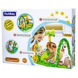 Развивающий игровой коврик Fitch Baby Тропический лес (8502)