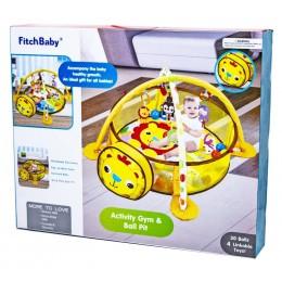 Детский развивающий коврик-манеж Fitch Baby Львенок (88969)