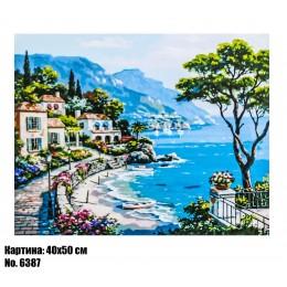Картина по номерам Средиземноморье (6387) 40 х 50 см