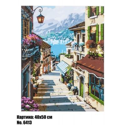 Картина по номерам Италия (6413) 40 х 50 см