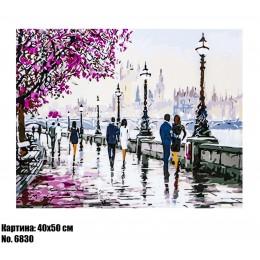 Картина по номерам Городская набережная (6830) 40 х 50 см