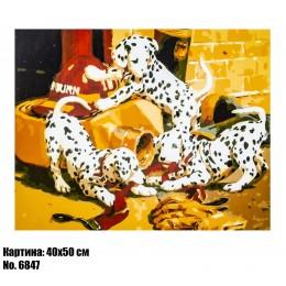 Картина по номерам Далматинцы (6847) 40 х 50 см
