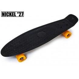 """Пенни борд Nickel 27"""" Черный"""