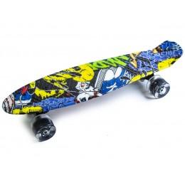 Пенни борд Cool Draft Joker (светящиеся колеса)