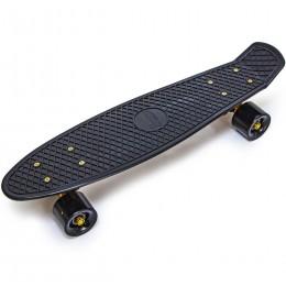 Penny Board Black Gold (золотая подвеска)