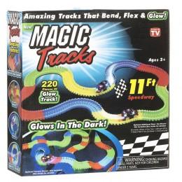 Гоночный трек Magic Track на 3 батарейки 220 деталей