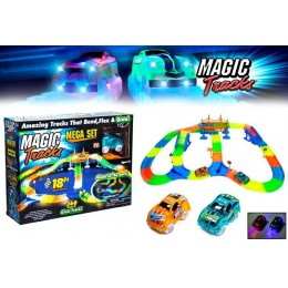 Гоночный трек Magic Tracks 360 деталей на 3 батарейки