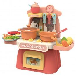 Детская игровая мини-кухня со светом и звуком.