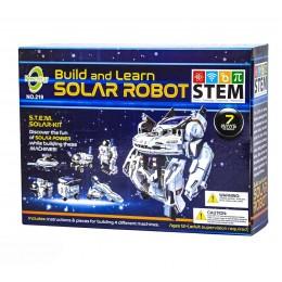 Конструктор на солнечных батареях Робот Космопарк 7 в 1 CIC 21-641